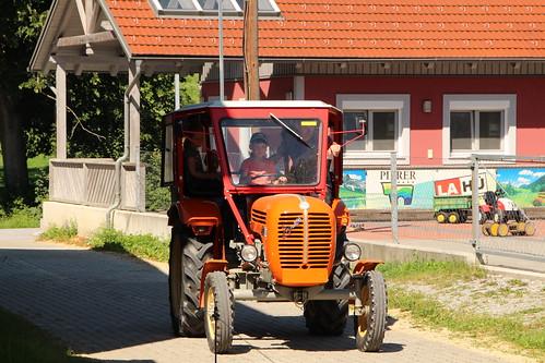 Traktorführerschein mit den Kids