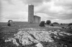 Photo of Belleek Old Church near Lough Scolban, Co. Fermanagh, Ulster, Ireland