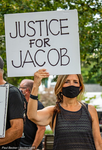 Kenosha, Wisconsin. Jacob Blake shot 7 times in the back by police., From FlickrPhotos