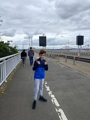 Photo of Crossing the old Forth Road Bridge