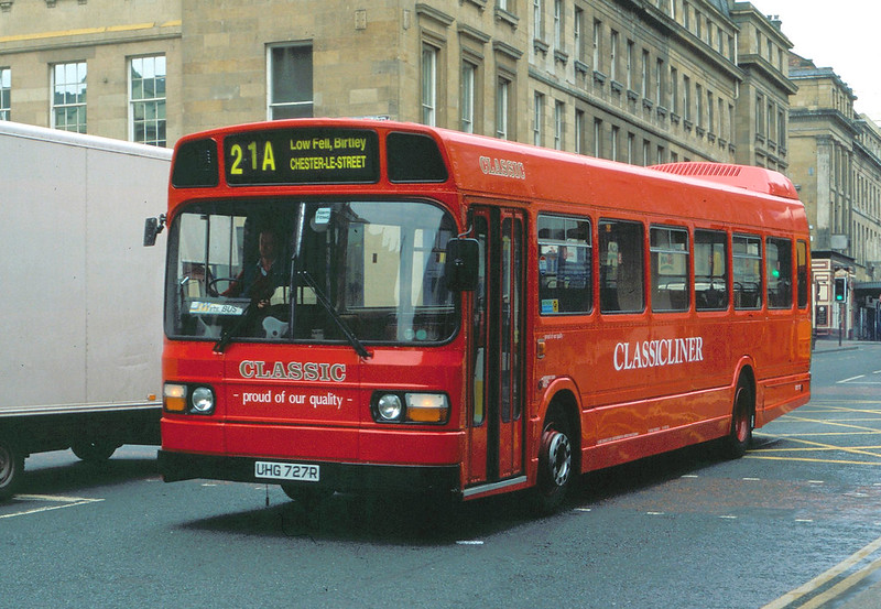 UHG727R Classic Coaches, Newcastle