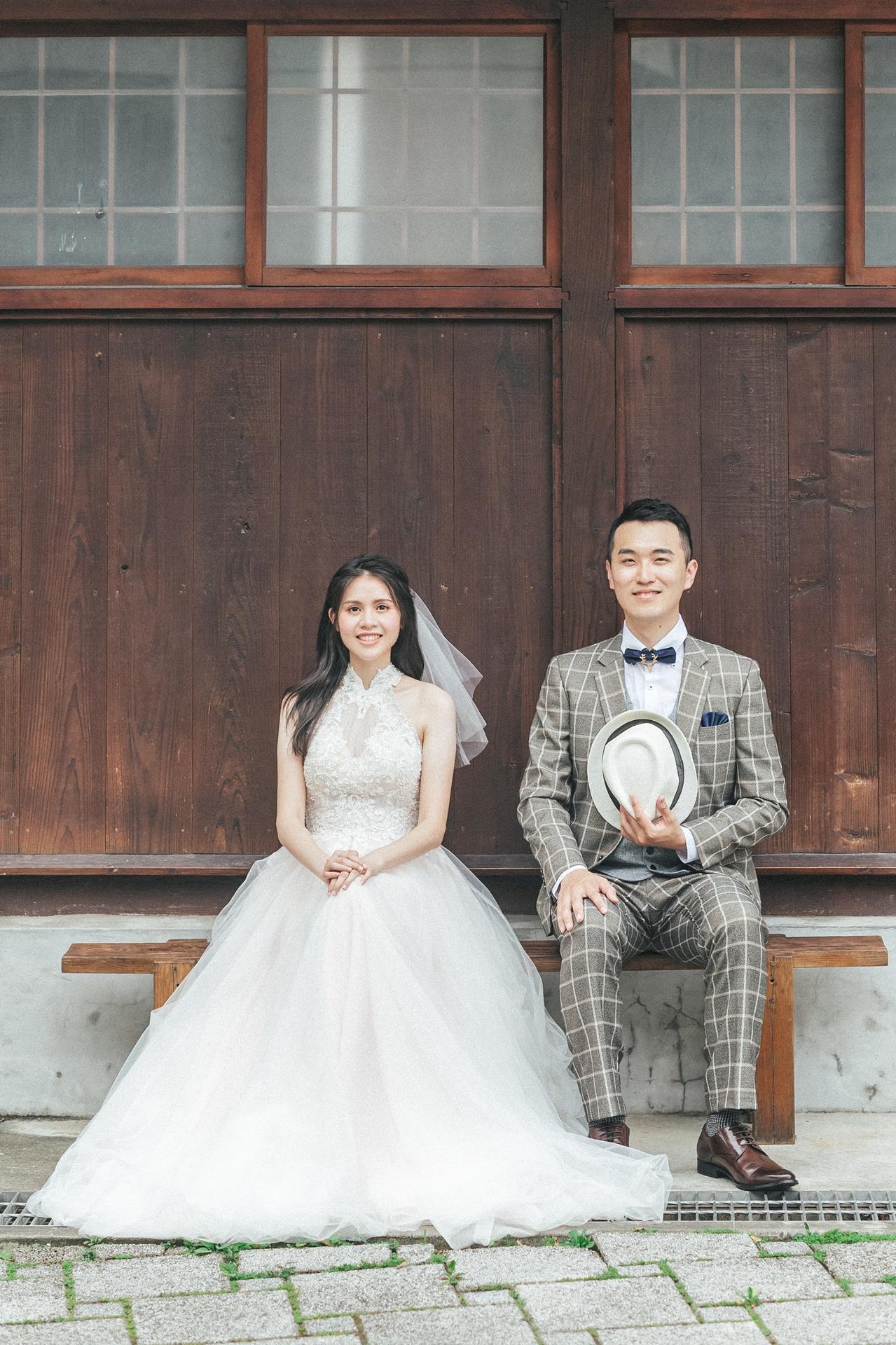 【婚紗】Ming & Weiting / 紀州庵文學森林 / 施洛德文學花園