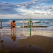 Ascoltando il suono del mare - Italia - Puglia - Vieste - Spiaggia Molinella.