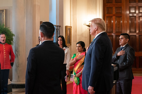 President Trump Participates in a Natura by The White House, on Flickr