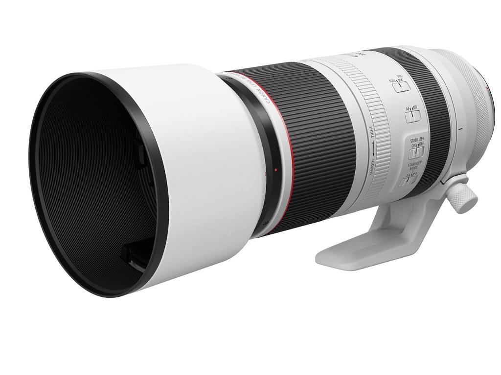 03_RF100-500mm F4.5-7.1L IS USM 鏡頭配有最高 5 級3震動補償效果的 IS 影像穩定器,為超望遠手持拍攝提供可靠的防震保障。