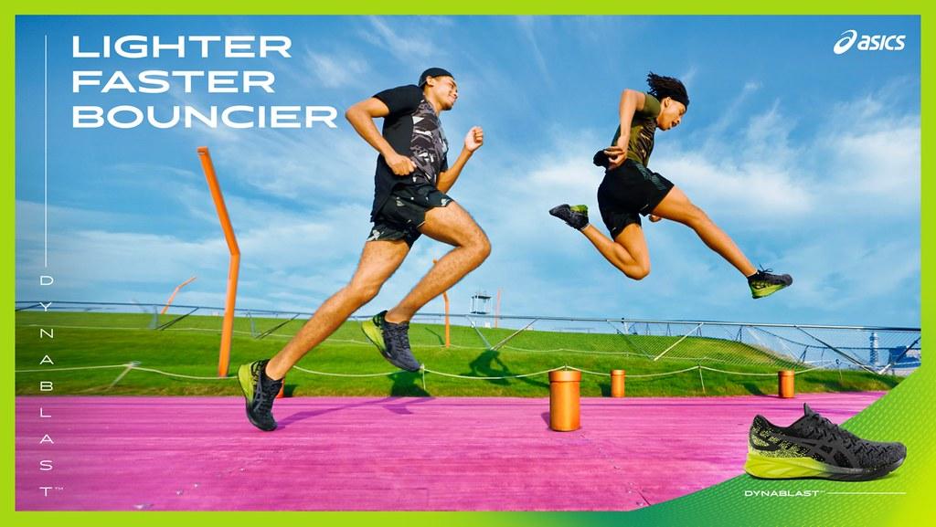 ASICS亞瑟士為年輕世代跑者推出彈力系列跑鞋,帶來更輕、更快、更彈的舒適腳感