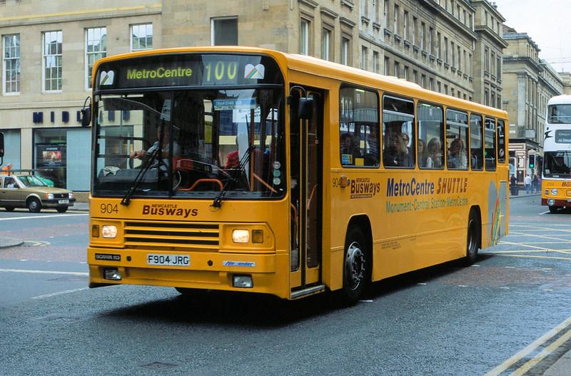 F904JRG Busways 904 Newcastle