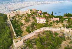 Alanya-Castle-Turkey-mavic-0132