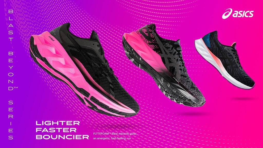 ASICS亞瑟士彈力跑鞋全系列登場,滿足跑者不同回彈需求與用途