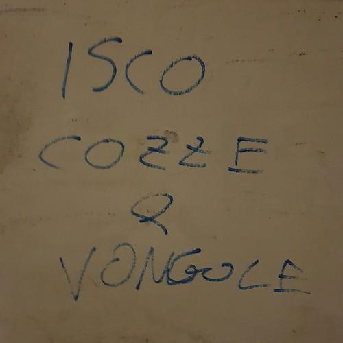 """Isco cozze e vongole"" Firenze 2020"