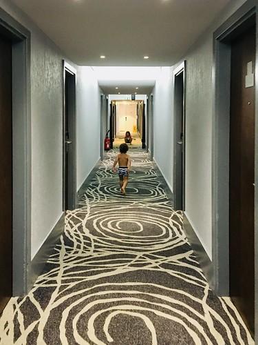 Hotel life!
