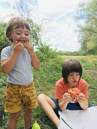 Pizza in the field