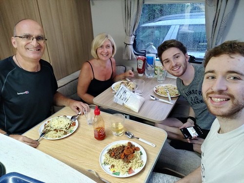 "Dinner for four in a two berth caravan • <a style=""font-size:0.8em;"" href=""http://www.flickr.com/photos/95373130@N08/50279292161/"" target=""_blank"">View on Flickr</a>"