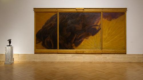 La Chute des anges, Gaetano Previati, Galerie nationale d'Art moderne et contemporain, Rome