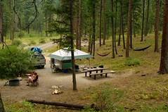 We had the entire campground to ourselves