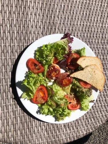 Salade geitenkaasje