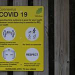 Covid 19 sign