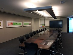 Serenity Acoustic Panels In Boardroom