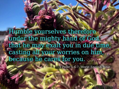 peter - 1 Peter 5:6-7