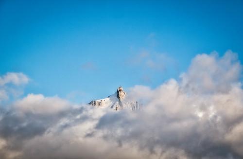 Mont Blanc Massif - Aiguille du Midi (3842m)