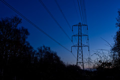 Photo of Electricity pylon, Higher Poynton, Cheshire