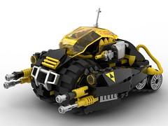 LEGO Blacktron MOC