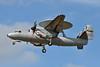 1 Grumman E2C Hawkeye RAF Leuchars 24-04-13