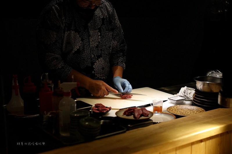 三樵炭火燒肉鹿兒島和牛新鮮直送日本師父手切台北和牛燒烤051