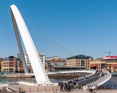 Millenium Bridge profile - Newcastle