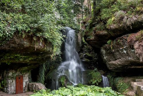 Lichtenhain Waterfall / Lichtenhainer Wasserfall