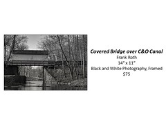 "Covered Bridge over C&O Canal • <a style=""font-size:0.8em;"" href=""http://www.flickr.com/photos/124378531@N04/50298634492/"" target=""_blank"">View on Flickr</a>"