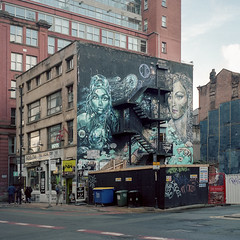 Photo of [Film] Subism Collective Mural, Manchester