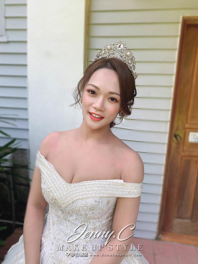 【新秘蓁妮】bride 茹茹 訂婚造型 / 中式造型,韓系
