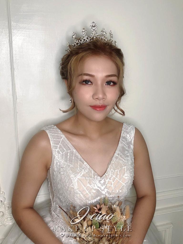 【新秘婕喬】新娘造型創作 / 歐美皇冠