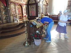 Молебен от вредоносного поветрия состоялся в Новых Полянах