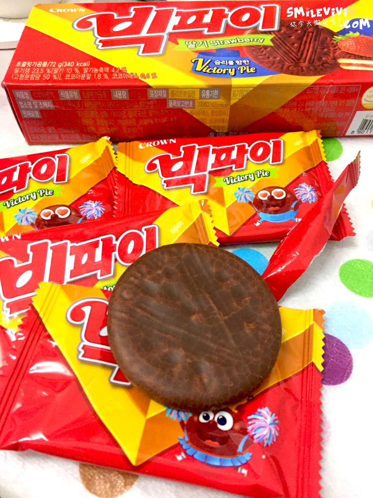 食記∥韓國餅乾CROWN(크라운)兩款夾心餅乾之草莓夾心餅乾Victory Pie(빅파이)、巧克力夾心餅乾(쵸코샌드) 18 50306636593 b91633e38f o