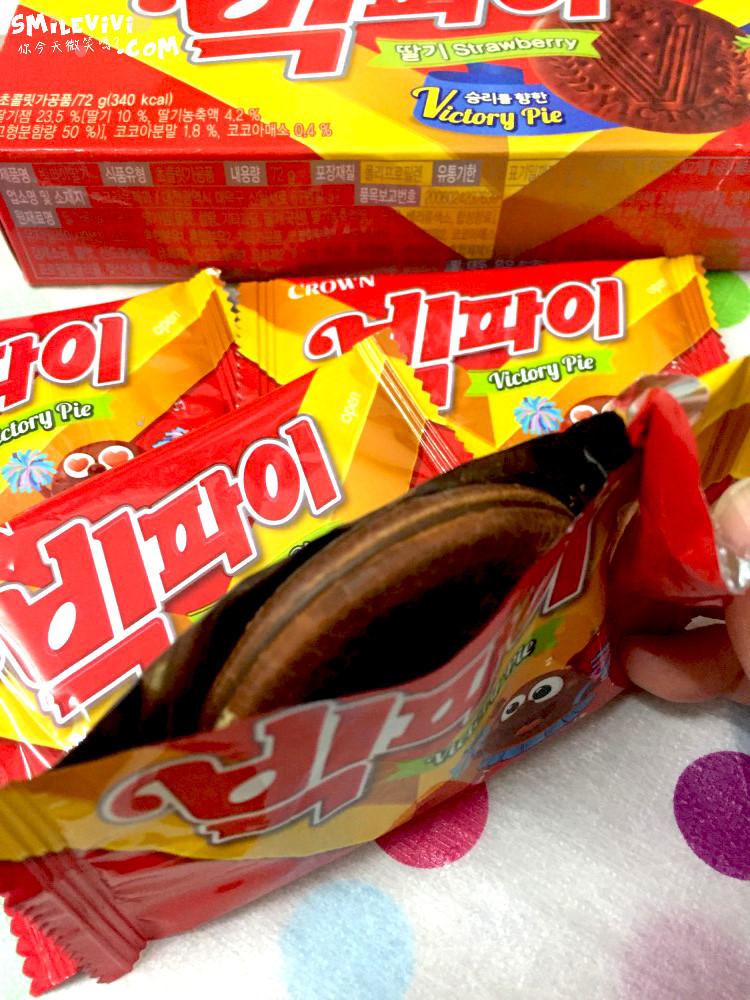 食記∥韓國餅乾CROWN(크라운)兩款夾心餅乾之草莓夾心餅乾Victory Pie(빅파이)、巧克力夾心餅乾(쵸코샌드) 17 50306636598 09120a559b o