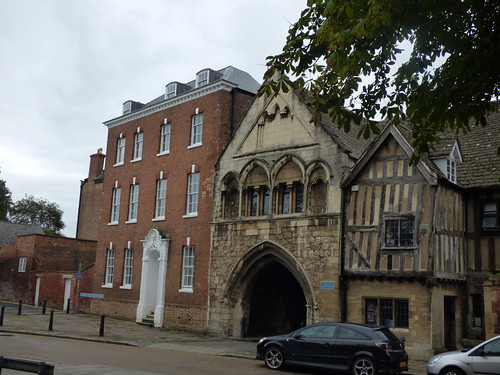St Mary's Gate in Gloucester