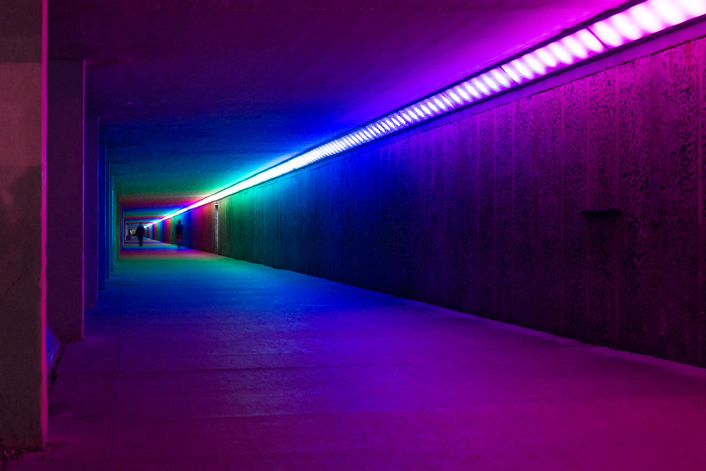 Colour Tunnel Hastings