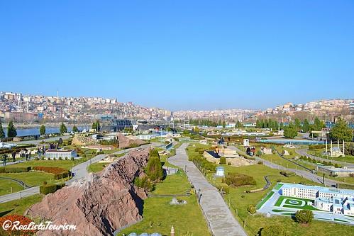 #صورة  من  مدينة المجسمات الصغيرة #مينيا_تورك #اسطنبول 😍 #تركيا 🇹🇷