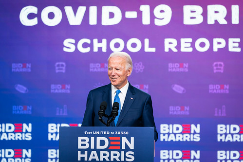 Briefing and Press Conference Regarding by Biden For President, on Flickr