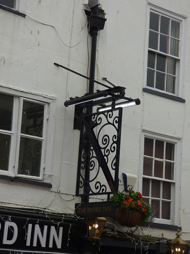 The Sword Inn - Westgate Street, Gloucester - pub sign