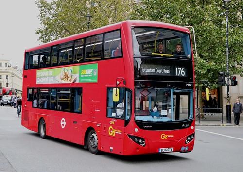 Go Ahead London Central - MHV11 - BU16OYV