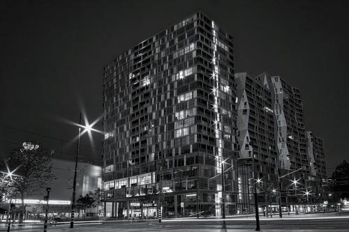Downtown. Rotterdam, Holland