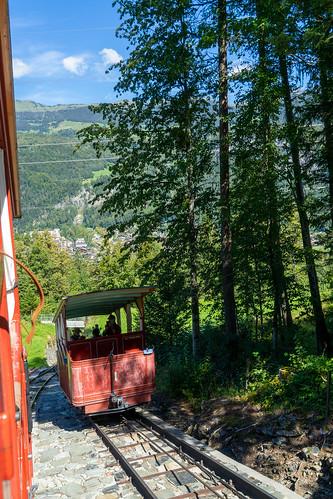 Reichenbachfall: cable car (3/4)