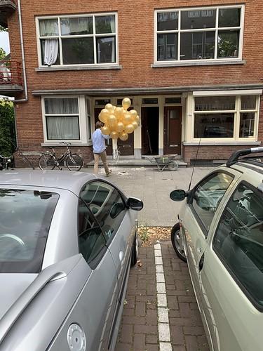 Heliumballonnen Mathenesserdijk Rotterdam
