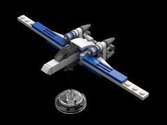 Micro U-Wing - Flight Position
