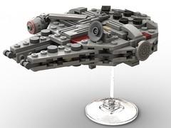 Millennium Falcon LEGO MOC