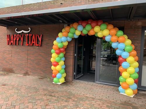 Ballonboog 6m Opening Happy Italy Spijkenisse