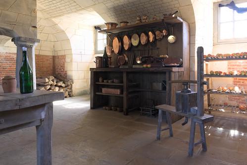 Kitchen (Château de Beaumesnil)